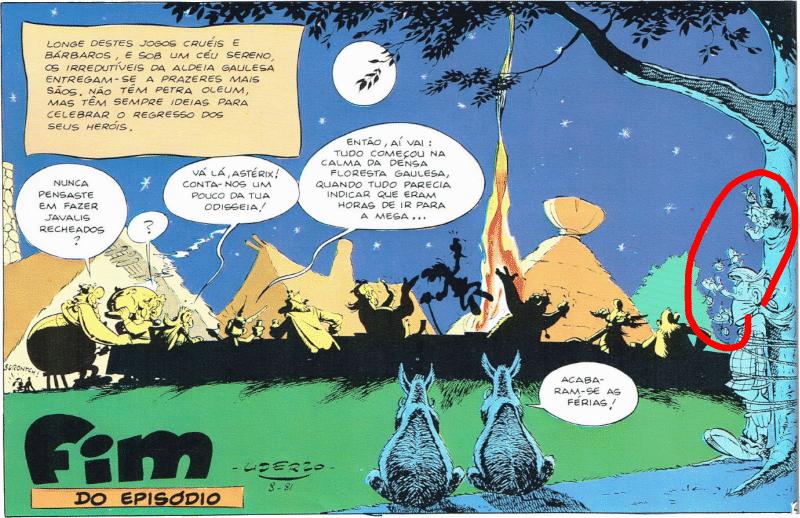 Os anacronismos de Asterix