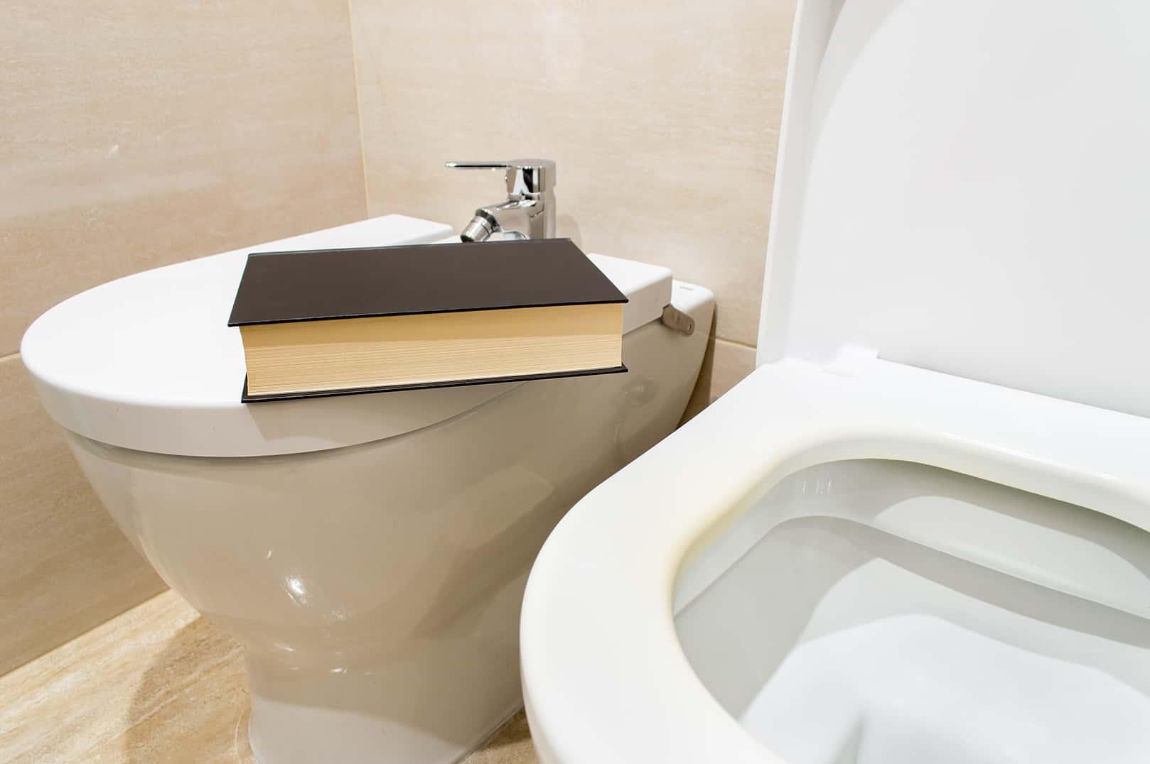 Livros no WC