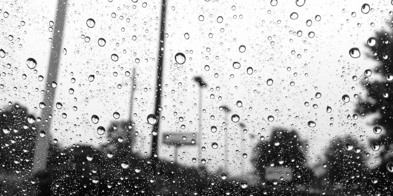 Chuva de gota a gota sem nexo