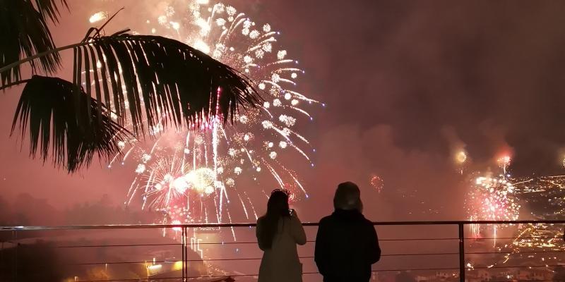 Fogo de Artificio - Madeira